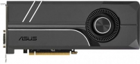 Видеокарта 6144Mb ASUS GeForce GTX1060 TURBO PCI-E 192bit GDDR5 DVI HDMI DP HDCP TURBO-GTX1060-6G Retail