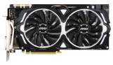 Видеокарта 8192Mb MSI GeForce GTX 1080 ARMOR 8G OC PCI-E 256bit GDDR5X DVI HDMI DP Retail