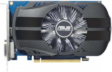 Видеокарта 2048Mb Asus GeForce GT1030 PCI-E GDDR5 64bit HDMI DVI HDCP PH-GT1030-O2G Retail